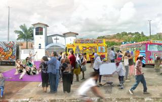 Imagem ilustrativa Projeto Ativa Ilhéus. Acervo COURB.
