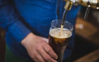 a economia local das cervejarias