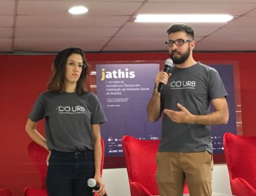 COURB apresenta urbanismo colaborativo na I JATHIS, em Brasília